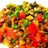 Cevizli Yeşil Mercimek Salatası