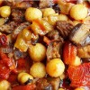 Etli Köfteli Kuru Sebze Yemeği