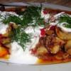 Zeytin Yağlı Kırmızı Biberli Mantar Yemeği