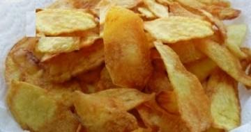 El Yapımı Patates Cipsi