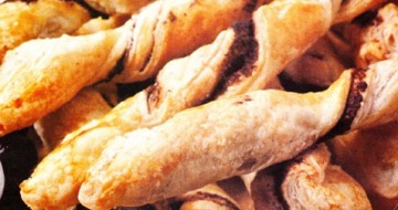 Puff Pastry With Olive Paste