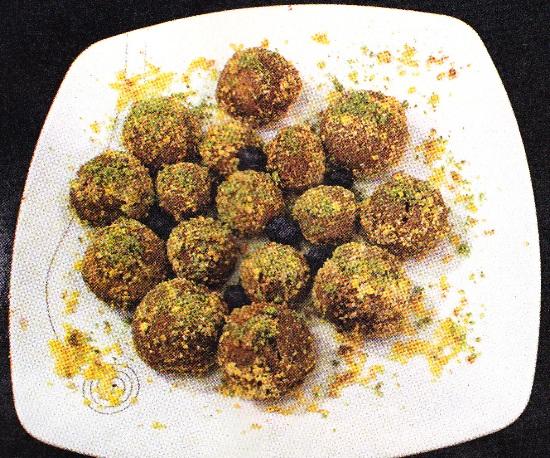 Kakaolu Bisküvili Minik Toplar