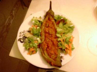 Kaşarlı Mangal Patlıcan